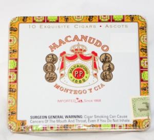 Macanudo Ascots Tin